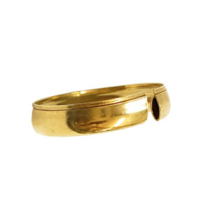 Gold Bangles and Rings made by Coiling Gold Machine