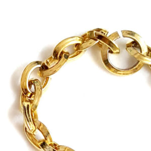 Gold Chains made by Roiling Gold Machine