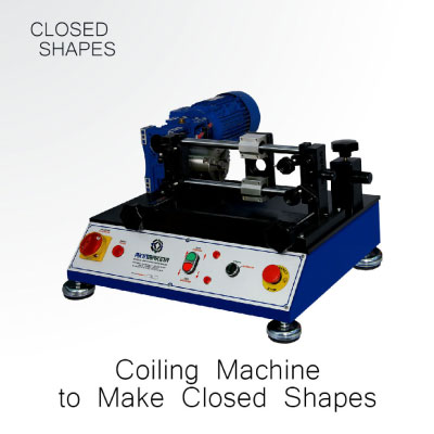 Gold Coiling Machine