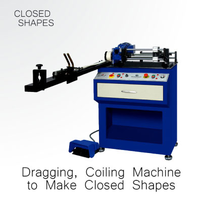 Gold Dragging and Coiling Machine