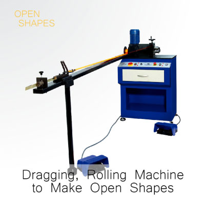 Gold Dragging and Rolling Machine