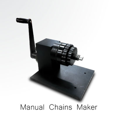 Manual Gold Chain Making Machine