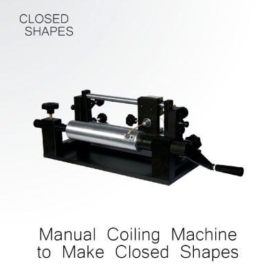 Manual Gold Coiling Machine